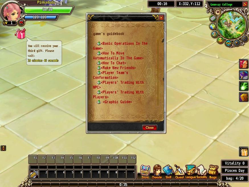 luvinia online game help