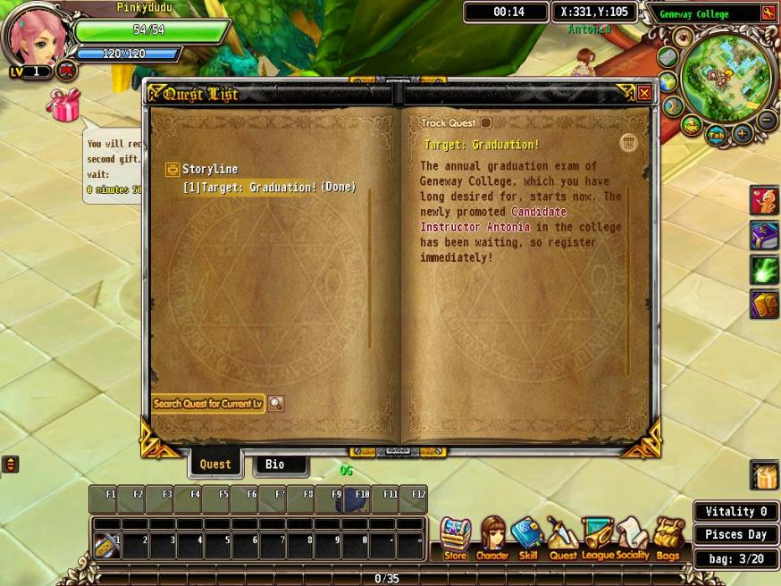 luvinia online quest
